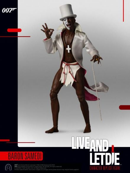 Big Chief Studios Live And Let Die Baron Samedi 1:6 Scale Figure